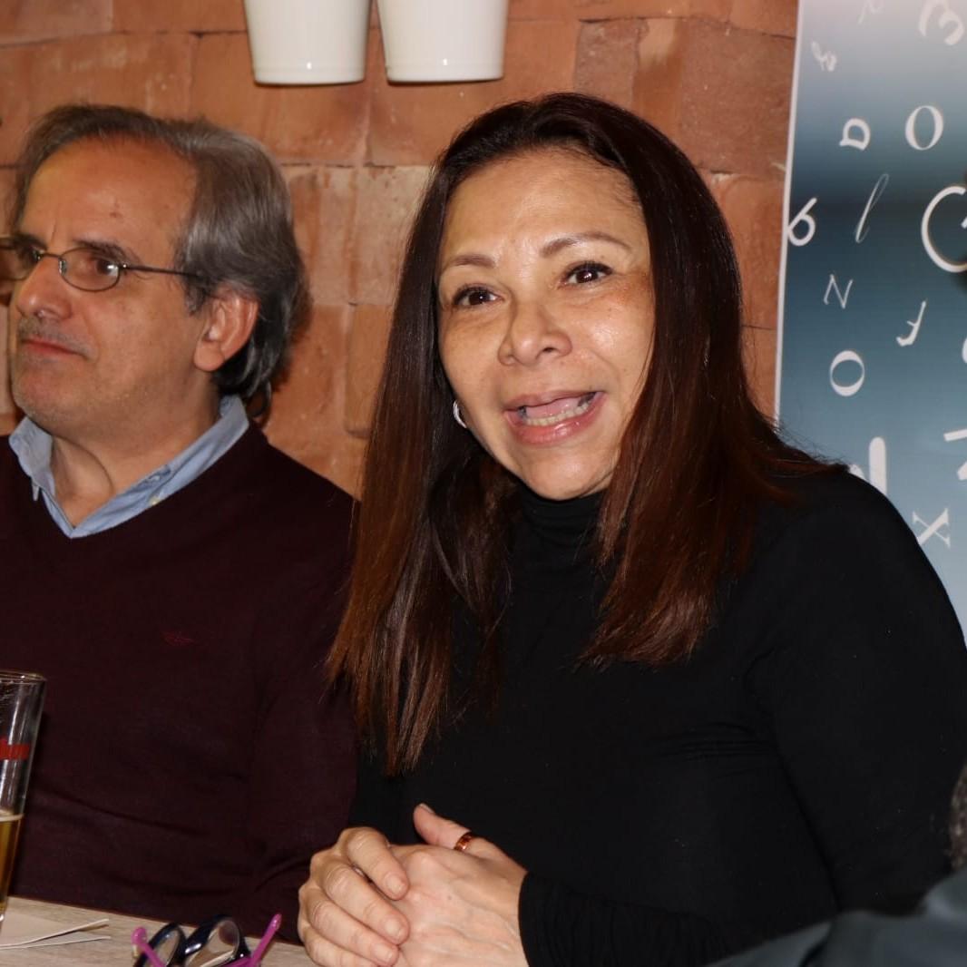 Héctor Manrique e Ibeyise Pacheco