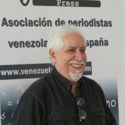 Leonado Padrón con Venezuelan Press