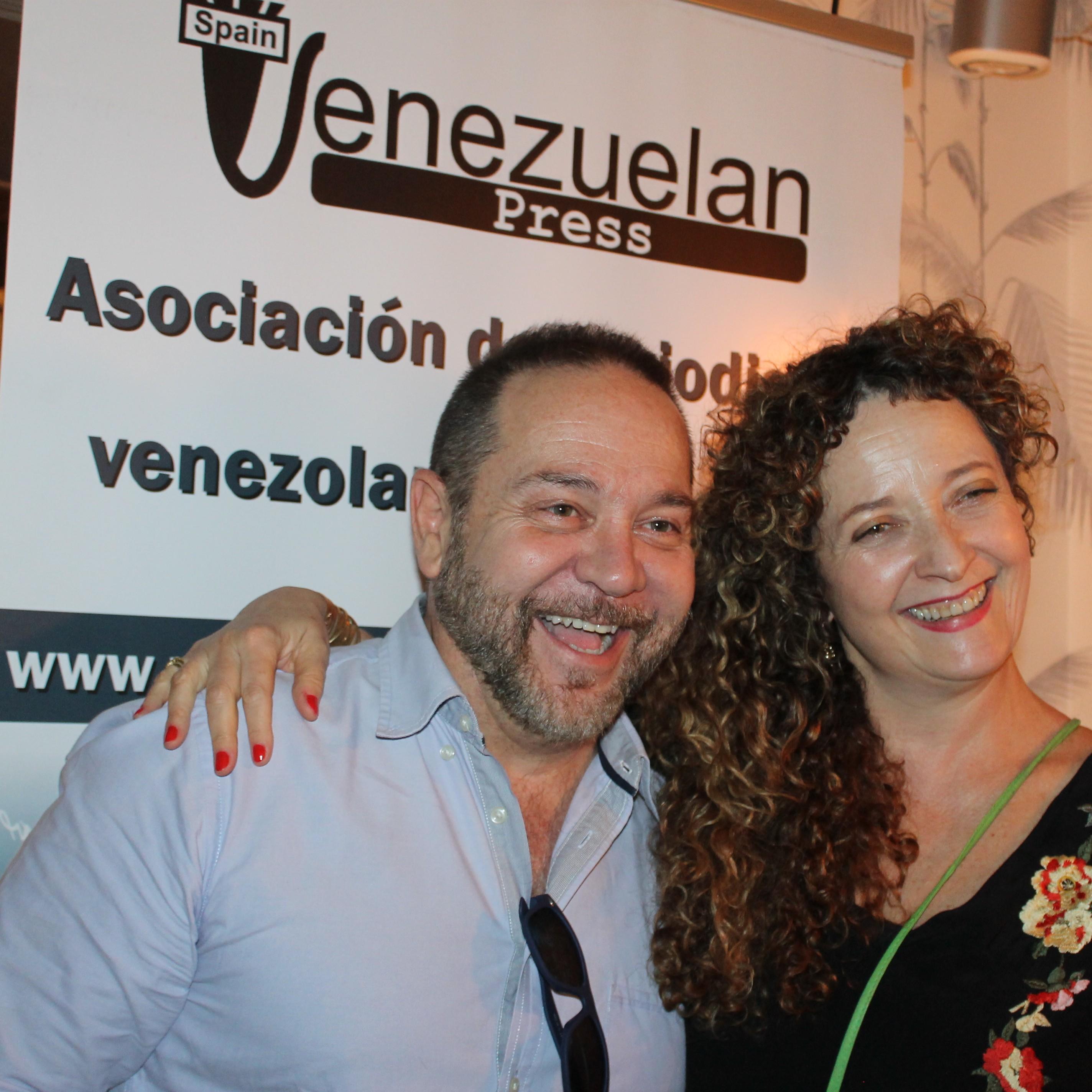 Miguel Ferrari y Lupe Gehrenbeck