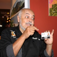 Claudio Nazoa con Venezuelan Press