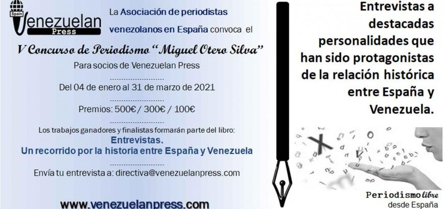 Convocatoria-V-concurso-periodismo Miguel Otero Silva