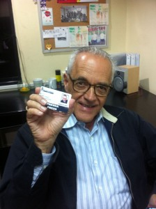 Nelson Bocaranda con Venezuelan Press