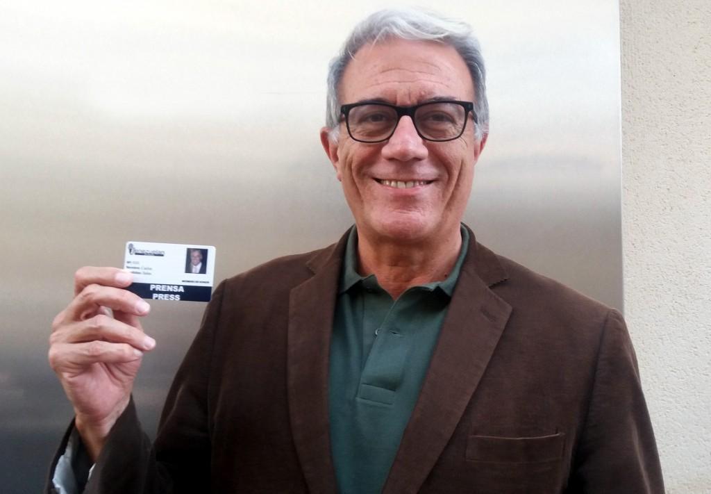 Carlos Salas con Venezuelan Press