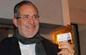 Miguel Henrique Otero con Venezuelan Press