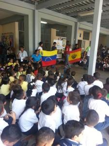 Álvaro de Marichalar durante su visita a Venezuela