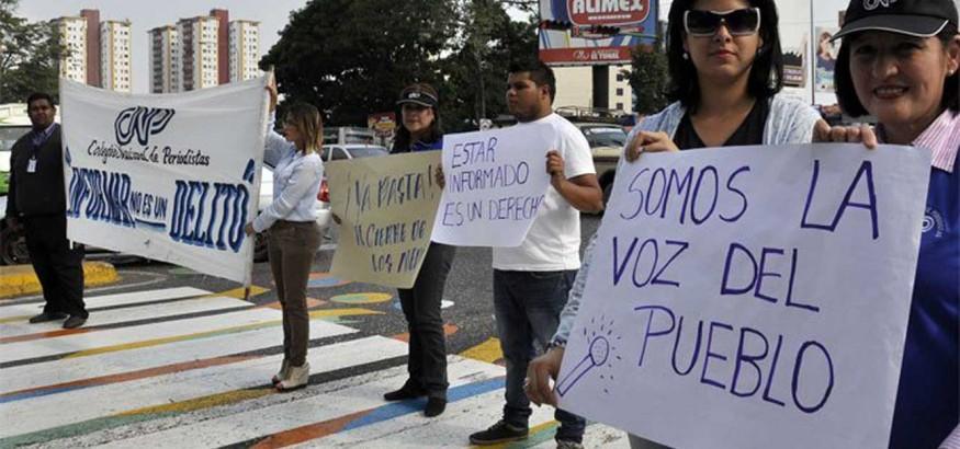Manifestación en Lara