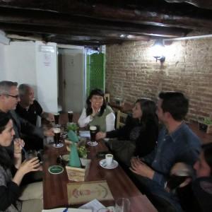 Martin Brassesco con Venezuelan Press