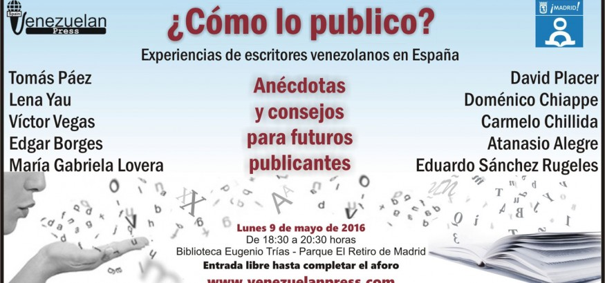 Encuentro de escritores venezolanos en Madrid