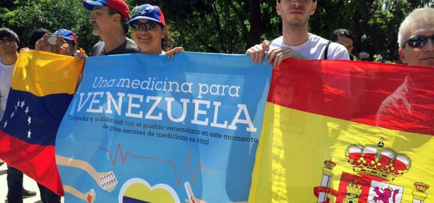 #UnaMedicinaParaVenezuela Madrid