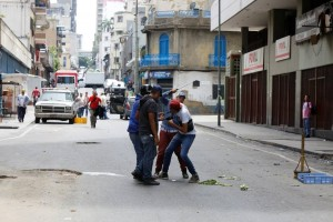 Periodistas en Venezuela son agredidos