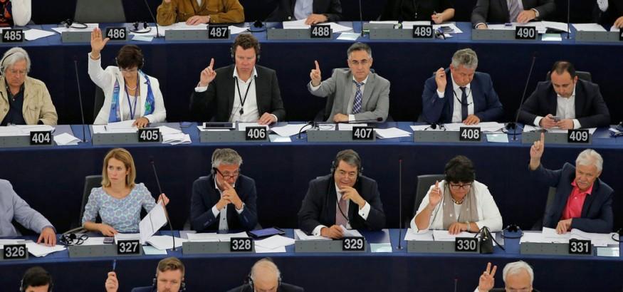 Pleno-Eurocamara-Votacion