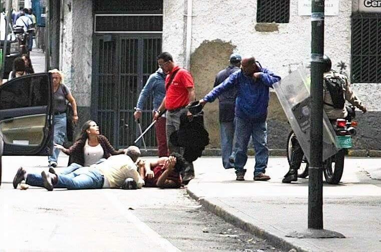 Agresiones A Periodista Venezuela