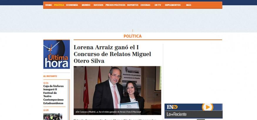 El Nacional reseña a Venezuelan Press