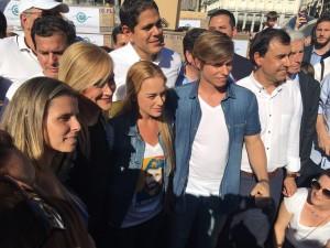 Cifuentes y Tintori en Madrid