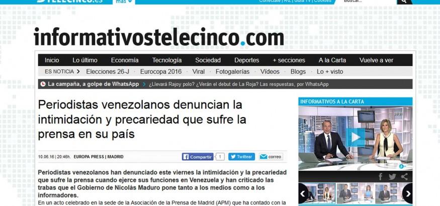 informativos-telecinco-reseña-a-venezuelan-press
