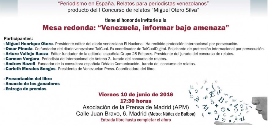 Mesa Redonda Venezuela informar bajo amenaza