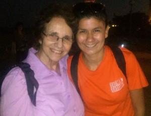 Virginia Aponte y Brenda Berrocal