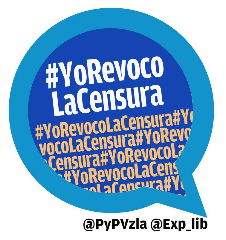 #YoRevocoLaCensura