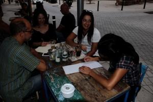 Venezuelan Press con Daniela Alvarado. Foto: Joaquín Ferrer