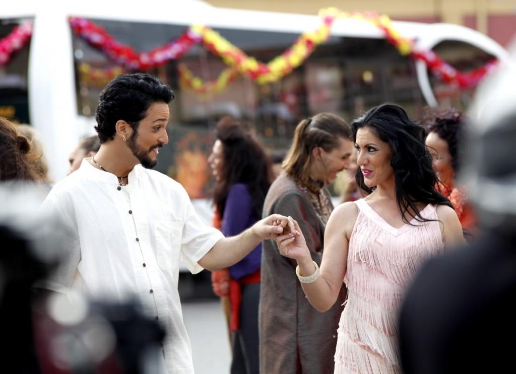Doriam y Leyla en Bollywood made in Spain