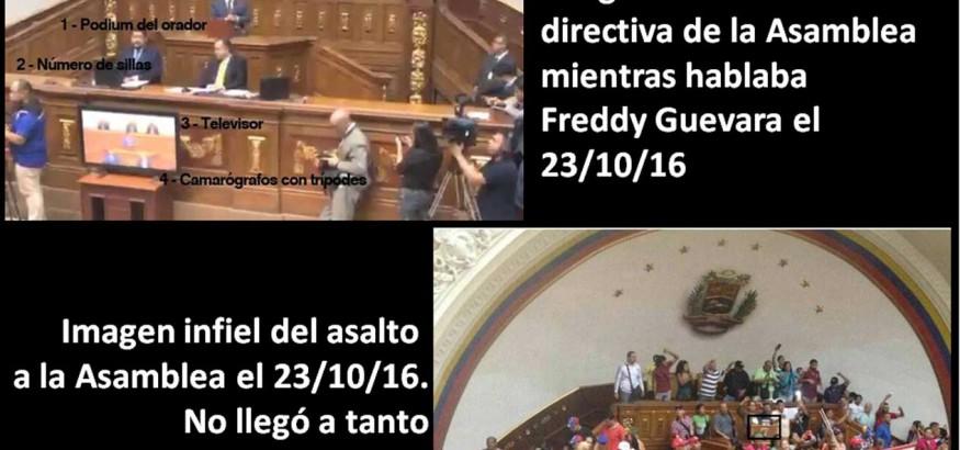 Asalto a la Asamblea Nacional en Venezuela
