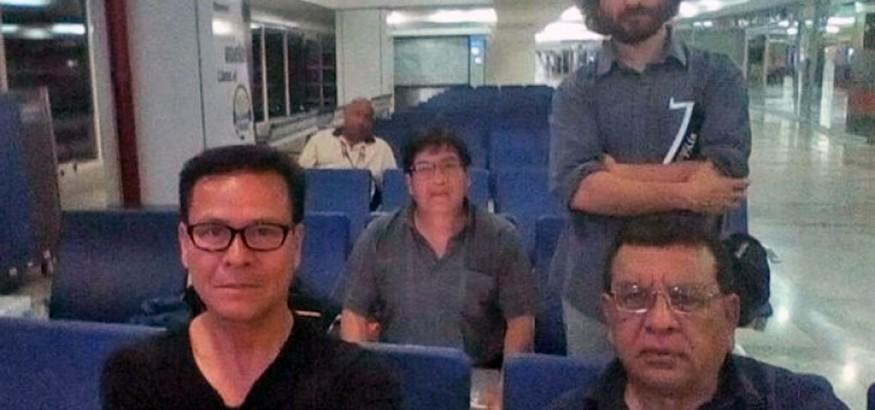 Periodistas peruanos retenidos en Venezuela. Foto: canaln.pe