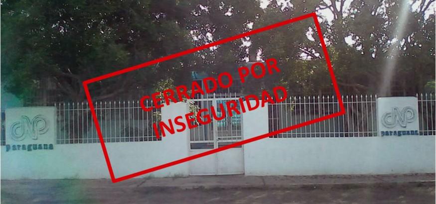Inseguridad provoca cierre de CNP Paraguaná