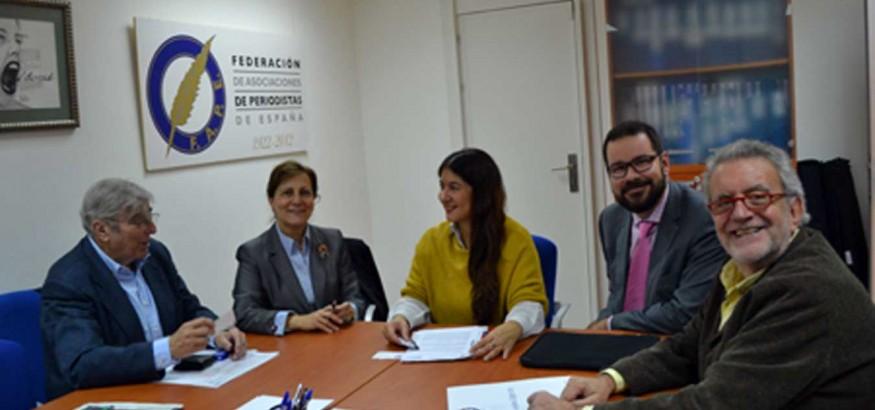 Reunión FAPE y Venezuelan Press