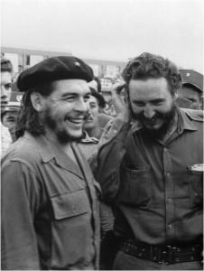 Fidel Castro y el Che Guevara