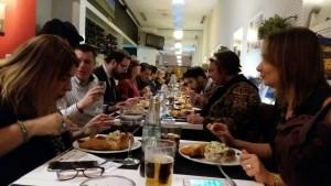 Periodistas venezolanos en Madrid