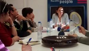 Haibory Yánez en charla con Venezuelan Press