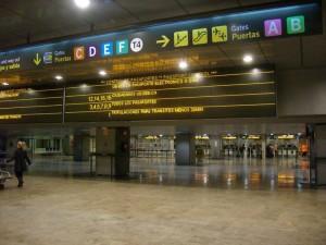 Inmigración aeropuerto Madrid Barajas