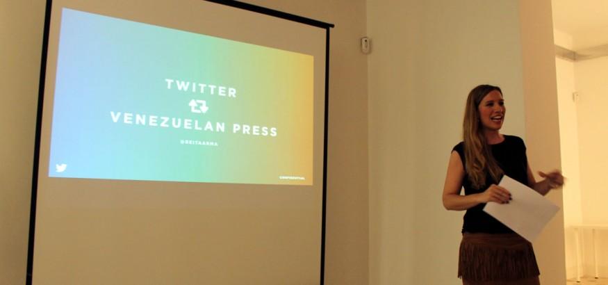 Twitter España se reúne con Venezuelan Press