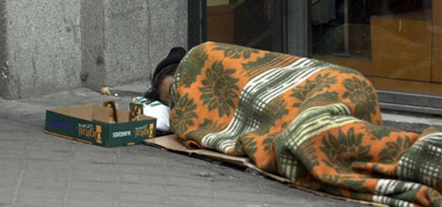 Venezolano en la calle en Madrid