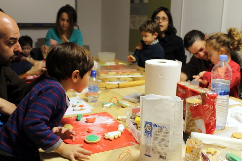 Galletas de Navidad hechas por Venezuelan Press