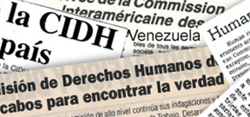 CIDH sobre Venezuela