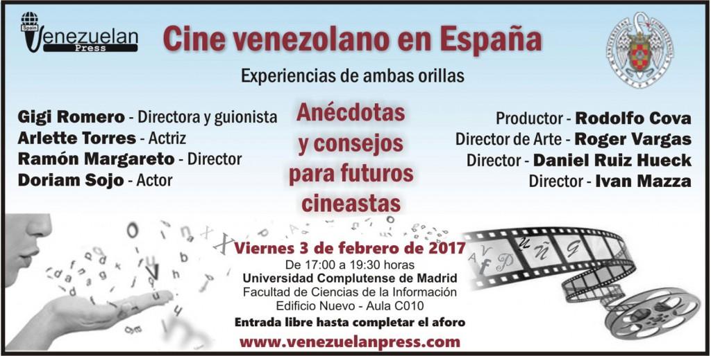 Encuentro con cineastas venezolanos