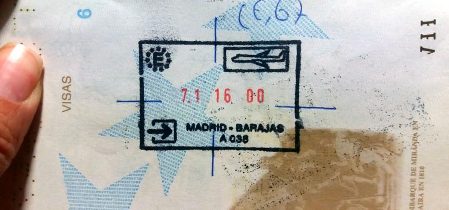 Pasaporte venezolano inadmi