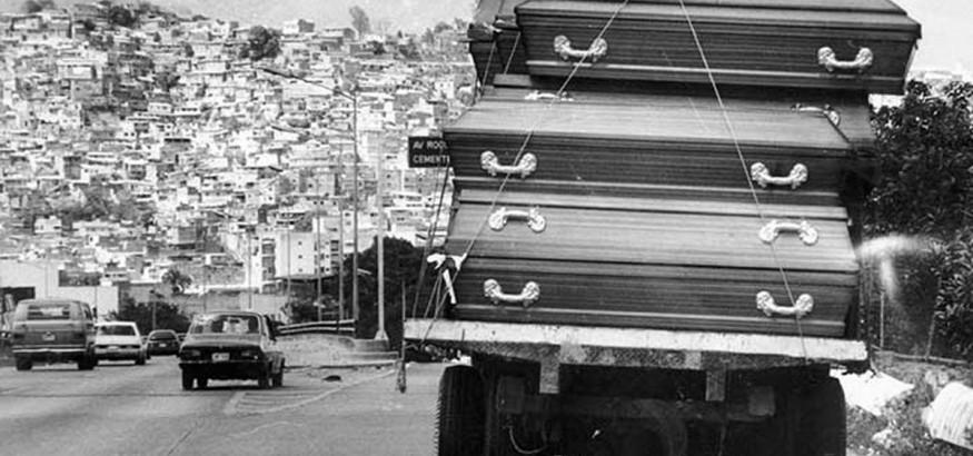"""El Caracazo. Foto: Francisco """"Frasso"""" Solórzano"""