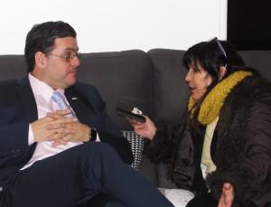 Miguel Villarroel y Elizabeth Araujo