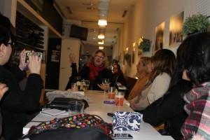 Conversatorio con Belén Marrero. Foto: Carleth Morales Senges