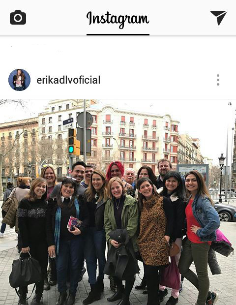 Instagram Erika de la Vega