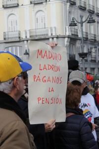 """""""Maduro paga la pensión"""""""