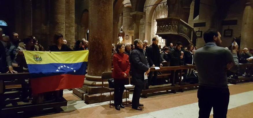 Venezolanos en Italia