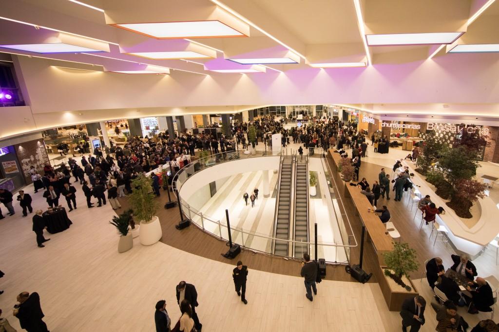 Vista de la tercera planta del centro