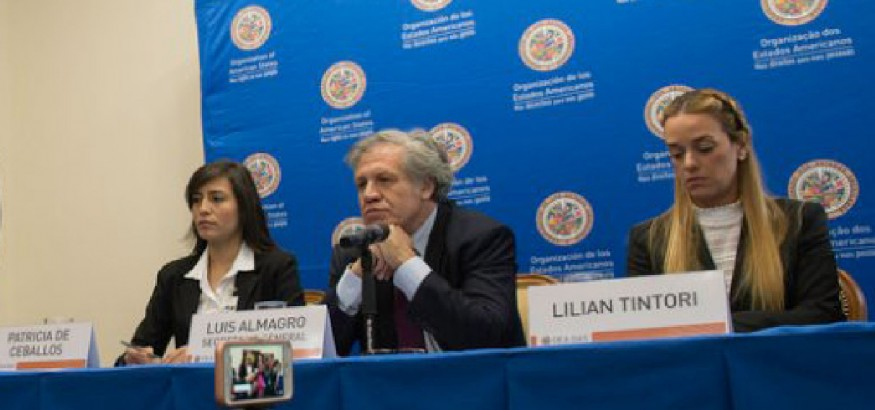 Luis Almagro pide activación Carta Democrática