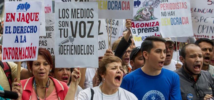 Periodistas venezolanos