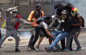 Periodistas atacados en Venezuela