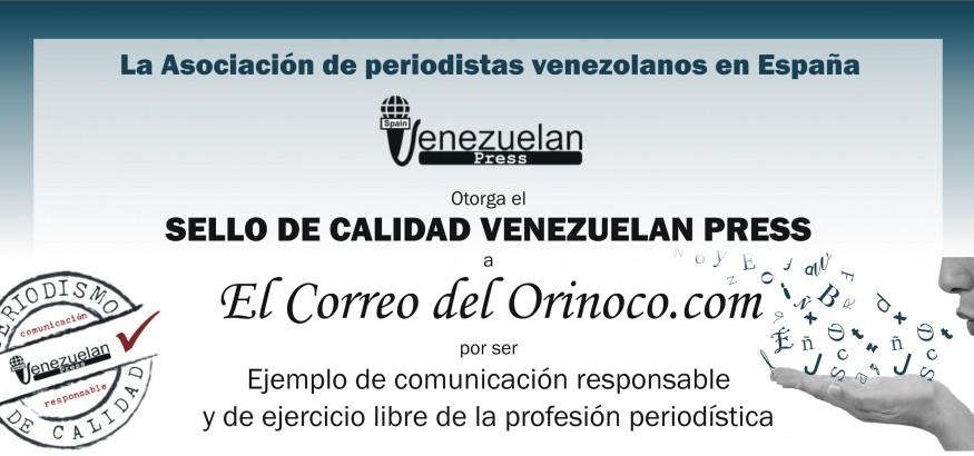 Sello de calidad para ElCorreodelOrinoco.com