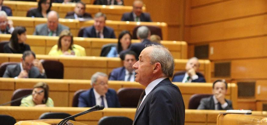 Dionisio García Carnero en el Senado